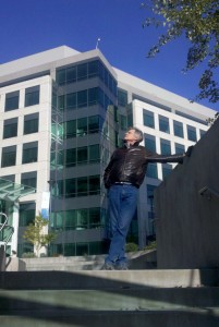 Dan Webb on the Microsoft Campus